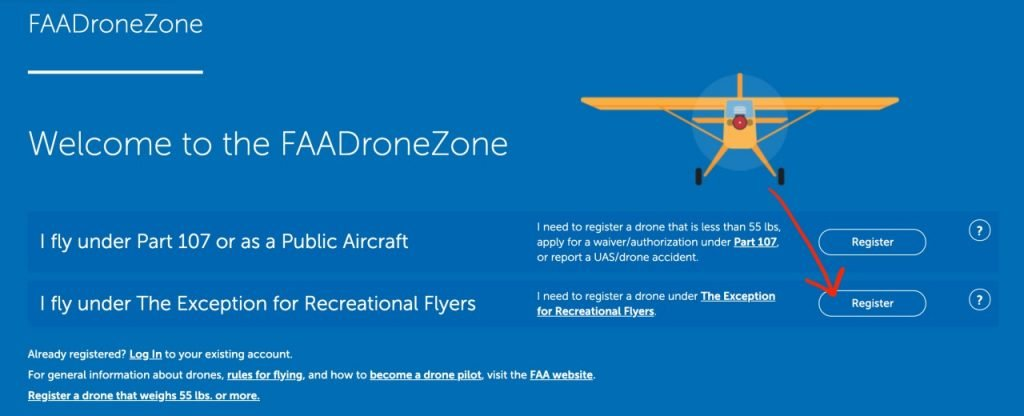 How to register a drone with the FAA?