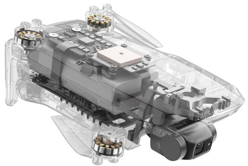 DJI Mavic Mini 2 internal structure
