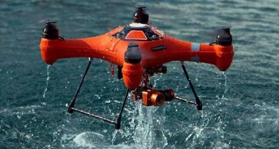 are drones waterproof