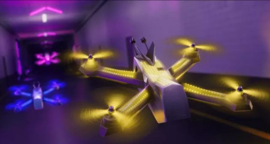 How fast can a drone fly