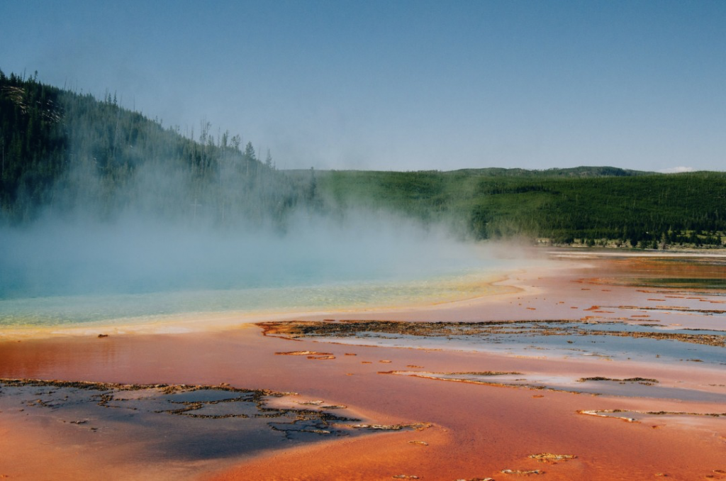 drones in yellowstone